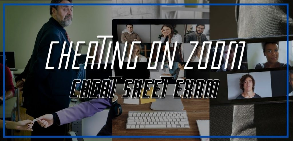 cheating on zoom