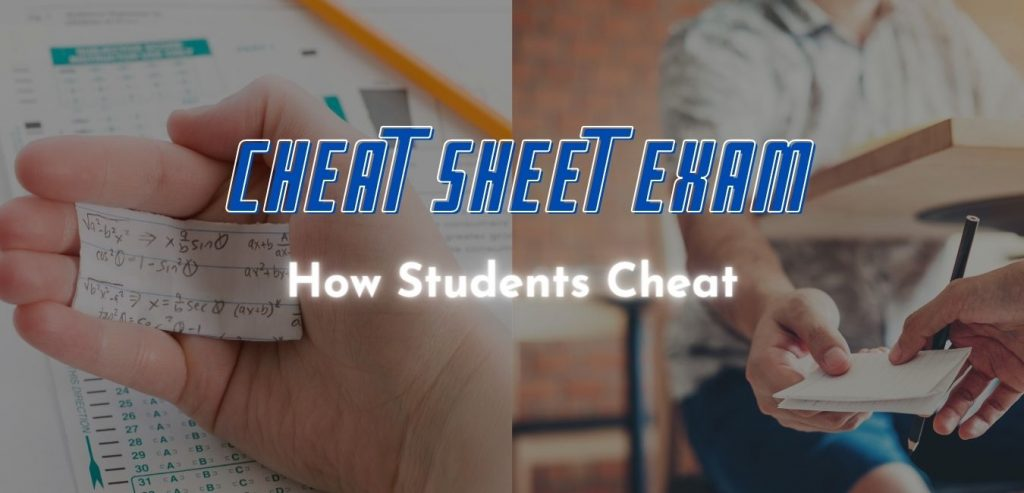 How Students Cheat