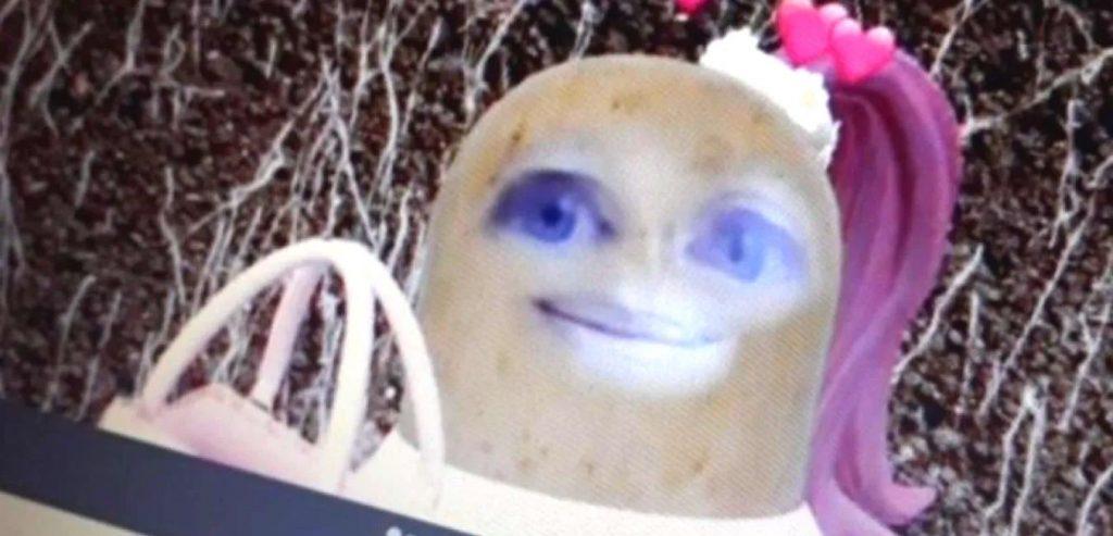 Mrs. Potato-Face Filter Teacher